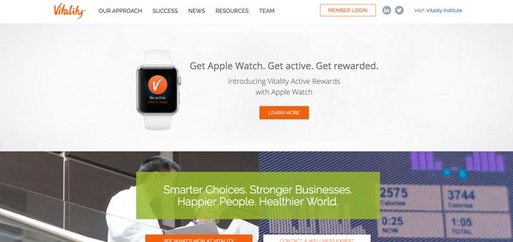 Een Apple Watch voor gezond gedrag