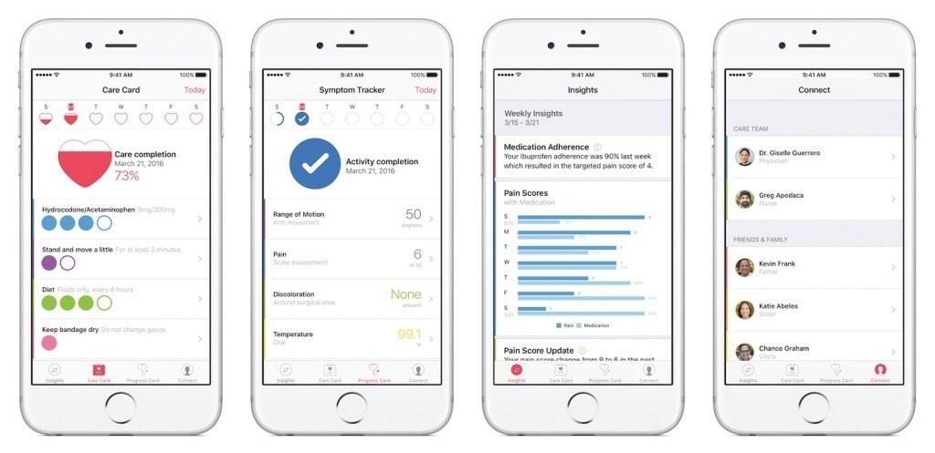 CareKit: standaard bouwstenen voor medische apps