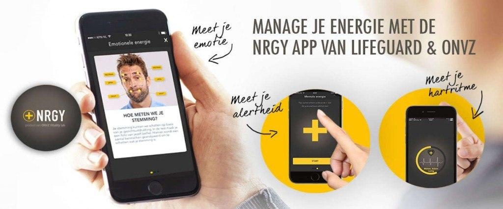 NRGY App: een App die je stress meet