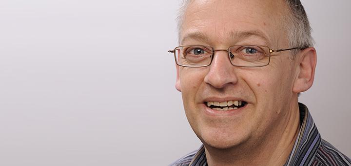 Bert de Swart, UHD, logopedist en spraak- en taalpatholoog en tevens lector Neurorevalidatie bij het Radboudumc