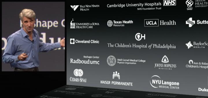 Apple's strategie: in ieder geval veel samenwerking met ziekenhuizen