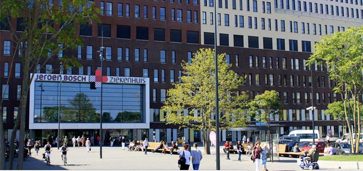 Zorgverleners kunnen mailen in een besloten groep, bijvoorbeeld in regio (Foto: Jeroen Bosch Ziekenhuis)