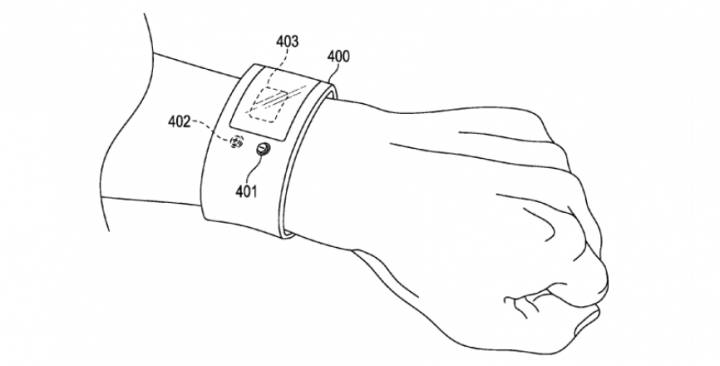 Afbeelding Apple patent via US Patent & Trademark Office