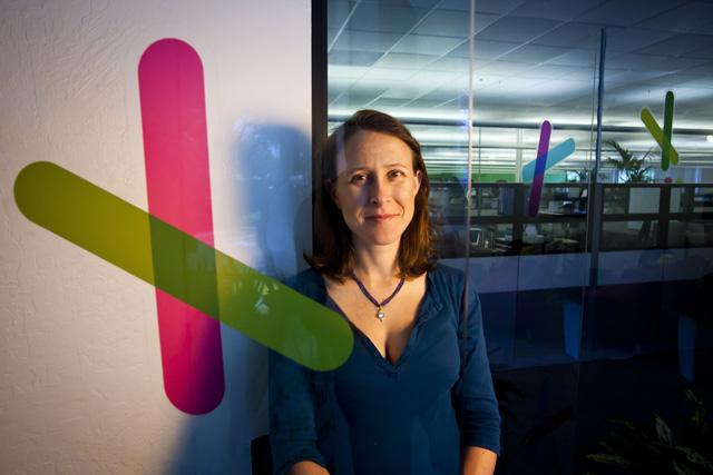 CEO van 23andMe, Anne Wojcicki (foto: Dai Sugano/SiliconBeat)