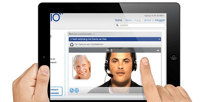 HelloFysioApp: videoconsult met therapeut