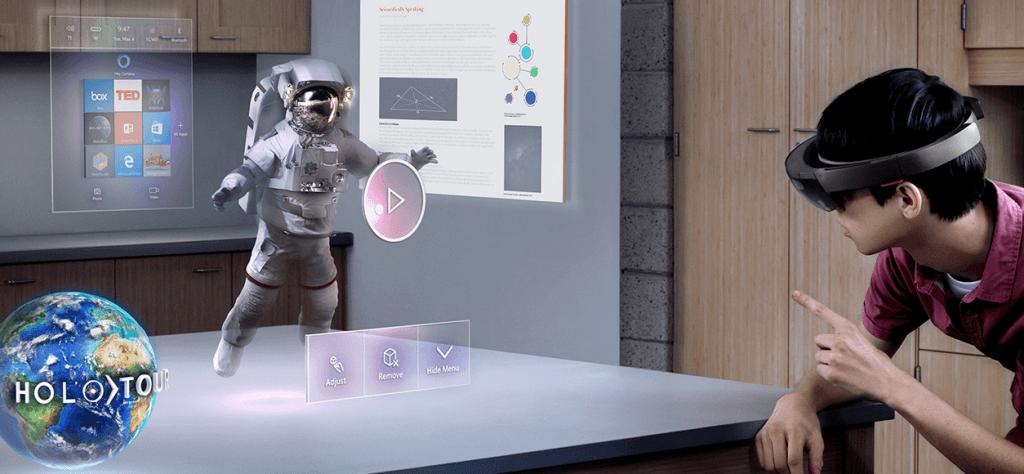 De virtual reality plannen van Microsoft