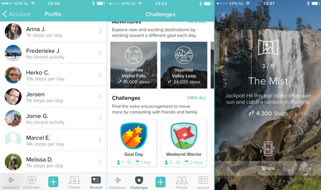 Fitbit app en ecosysteem