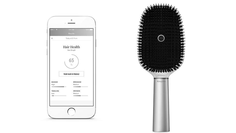 Withings x L'Oréal Hair Coach
