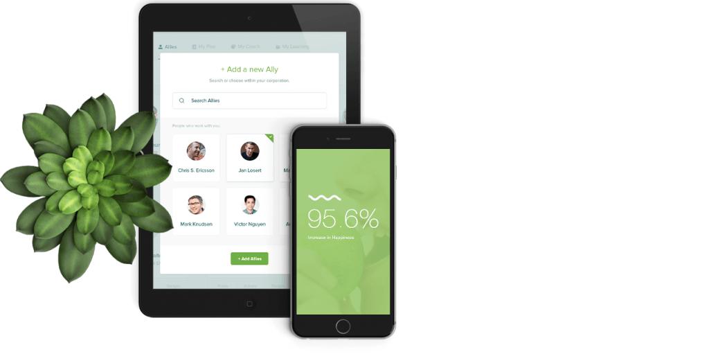 De app en webplatform van LifeDojo
