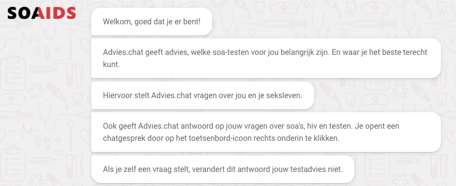 Advies.chat Soa Aids Nederland