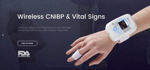 FDA-clearance voor bloeddruk meten via vingertop