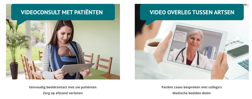 FaceTalk, een samenwerking tussen Radboudumc en Qconferencing