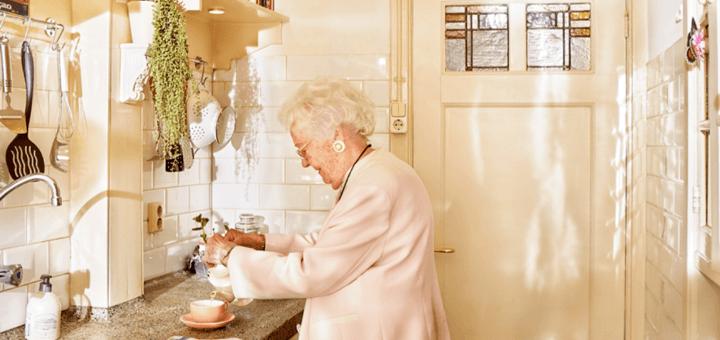 Sensoren reageren activiteit in de keuken