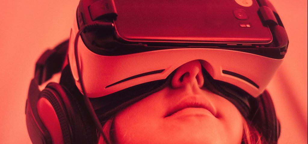 VR virtual reality bril