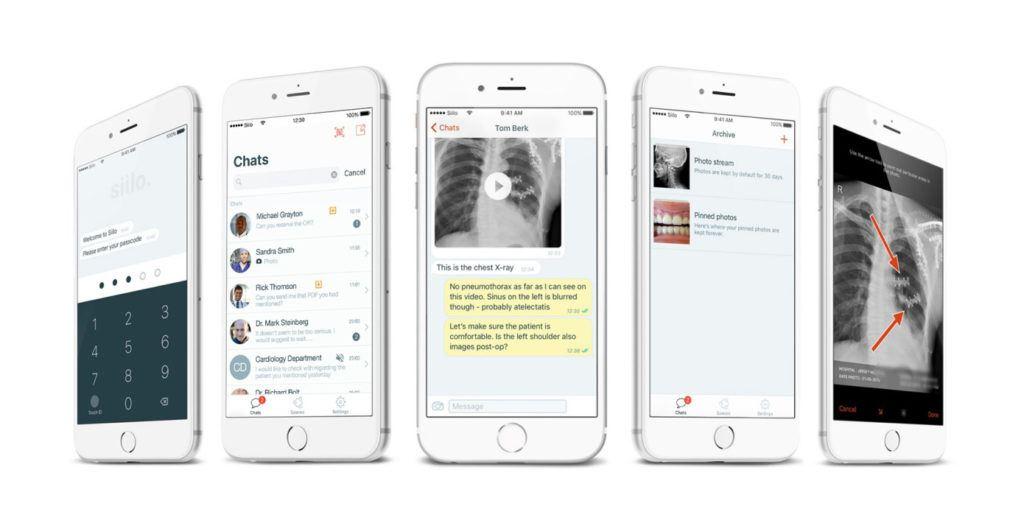Medische chat-app Siilo