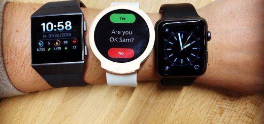 Smartwatch iBeat (midden) moet 'levens gaan redden' (foto: iBeat)