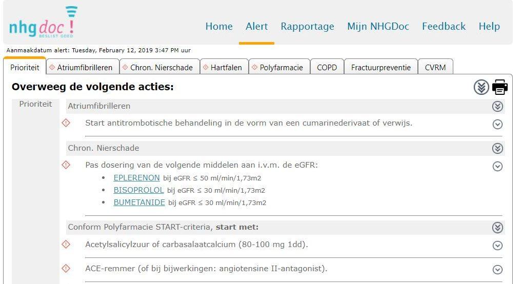 NHGDoc voorbeeld software