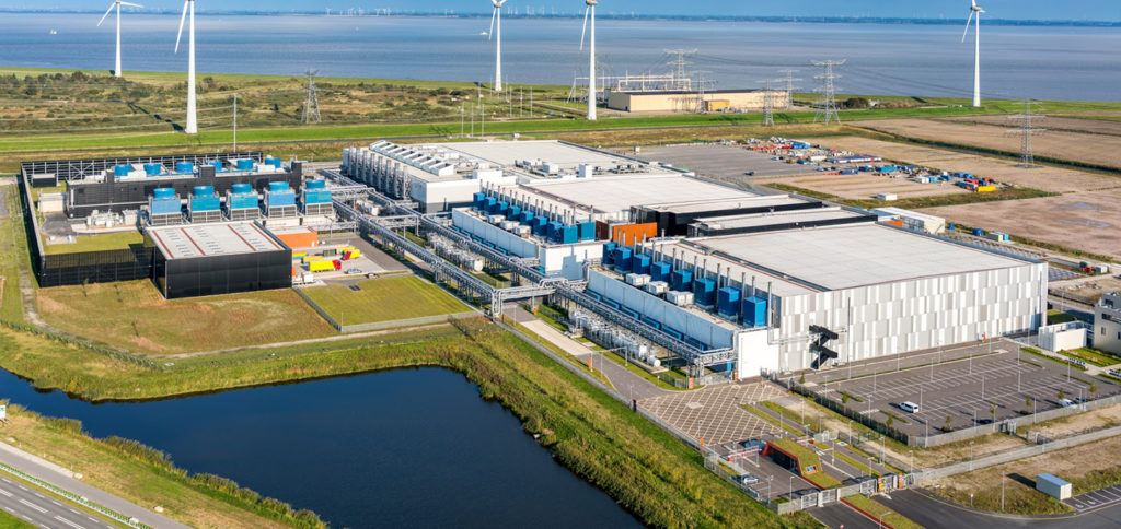 Google datacenter in Eemshaven