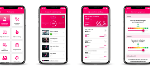 Pinktrainer app