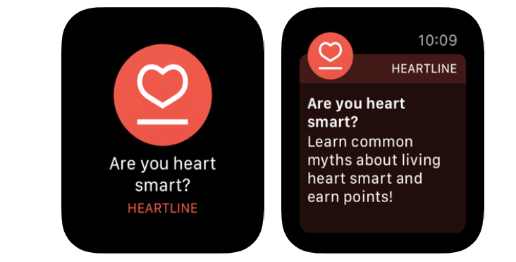 Heartline Study Apple Watch
