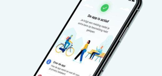 Nederlandse app: CoronaMelder